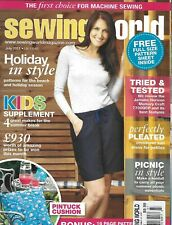 Sewing World Magazine Beach And Holiday Season Style Pleated Sun Dress 2011