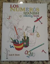 SPANISH COLORING BOOK LOS NUMEROS **BRAND NEW**