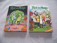 Rick and Morty: Seasons 1-2,  4 DVDs  (Adult Swim) Season 1 & 2