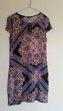 Knee Length Viscose Casual Dresses Paisley