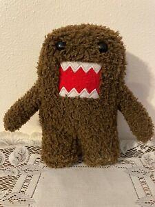 "Domo 7"" Plush Stuffed Toy NHK-TYO  JAKKS PACIFIC Dark Brown 1998-2008"