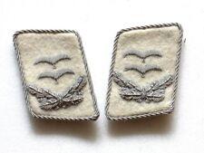 WW2 German HG Officer Collar Tabs (Oberleutnant)