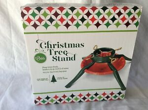 Oasis Christmas Tree Stand Model 95-6464 Trees to 8 Ft 1.25 to 5.5 in Trunk(NEW)