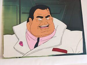 C.O.P.S. COPS Original Animation Production Cel. Big Boss