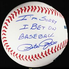Pete Rose Signed Autographed Baseball AUTO INSCRIBED, PSA/DNA Auth, COA