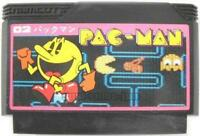 PAC MAN PACMAN NAMCOT NINTENDO FAMICOM NES FC FAMILY COMPUTER JAPAN
