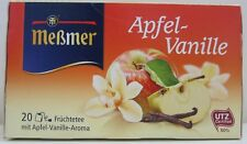 Messmer Apple Vanilla tea -20 tea bags- Made in Germany FREE SHIPPING
