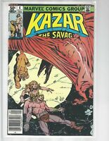 Ka-Zar The Savage, #6, Marvel Comic, 1981, Mid Grade