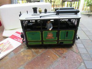 Vintage G Scale LGB Steam Tram Locomotive # 2150 OB
