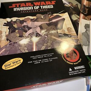 Star Wars: Invasion of Theed Adventure Game - Used/Complete