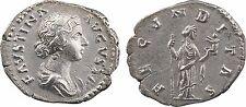 Faustine jeune (105-141), Denier Rome, R/ FECVNDITAS-24