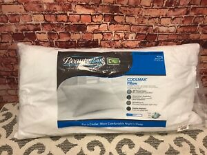Beauty rest(R) Cool max White King Cluster Bed Pillow 300 TC