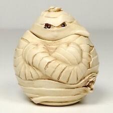 New ListingHarmony Kingdom Halloween Treasure Jest Roly Poly Boris the Mummy Tjrphmu Mib