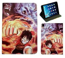 For iPad Pro 9.7 iPad 9.7 iPad Air 1 2 Monkey D Luffy One Piece Anime Case Cover
