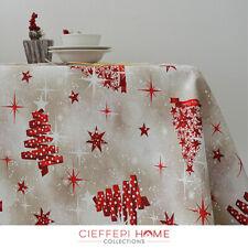 TIVOLI Tovaglia Natale Natalizia - varie misure - Cieffepi Home Collections