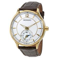 Movado Circa Motion Yellow Gold-tone Mens Smart Watch 0660008