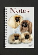 Pekingese Dog Notebook/Notepad with a small image on every page - by Starprint