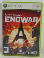 Tom Clancy's EndWar Xbox 360 Game Near Mint Complete PAL UK Fast Free P&P