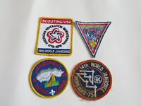 Boy Scouts patch patches 13th & 14th WORLD JAMBOREE 1975-76 Scouting