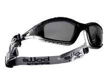 Bolle Tracker TRACPSI Smoke Lens Safety Glasses Anti-Scratch Anti-Fog + free bag