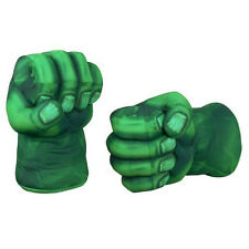 Hulk Smash Hands Soft Toy Doll Boxing Gloves Big Green One Pair Funny
