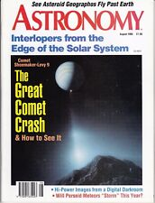 Astronomy Magazine August 1994, Chiron, Perseids, Shoemaker-Levy