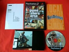 Grand Theft Auto Sanandreas Playstation 2 PS2 Game