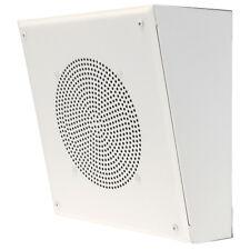 """Quam Wall Surface Mount Speaker 8"""" System 3 New In Box White 25/70v"""
