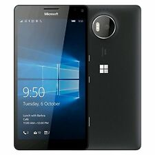 UNLOCKED Nokia Lumia 950 XL 32GB BLACK Global 4G LTE GOBAL DUAL SIM Phone w/WRTY