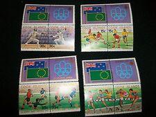 5 Sets 1976 Montreal Olympics Games AUSTRALIA-Poland-Rwanda- COOK ISLANDS Stamps