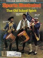 1980, 12/1 Sports Illustrated,magazine,college basketball,Ralph Sampson,Virginia