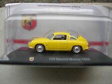 1/43 FIAT ABARTH 750 record monza 1958 jaune!!!!!