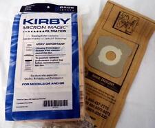 Kirby Vacuum Cleaner Bags Micron Magic 9 pack 197394 fits G3 - G7 + Belt