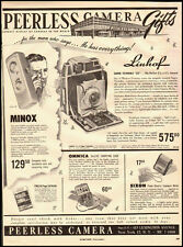 1953 vintage ad for Peerless Camera, New York  -071312