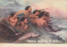 C1758) WW ETIOPIA, 2 DIVISIONE LIBICA CC. NN. 28 OTTOBRE. ILLUSTRATORE TAFURI.