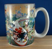 Disney Coffee MUG Mickey Minnie Disneyland Resort Grandma 3D Relief Cup 14 oz.