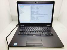 DELL LATITUDE E7470 INTEL CORE i5-6300U 2.40GHZ NO RAM NO HDD READ 1080P
