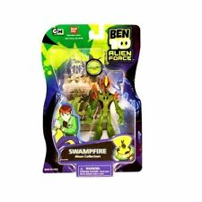 "Ben 10 Alien Force Swampfire 4"" Action Figure Bandai #27441 Sealed New Toy RARE"