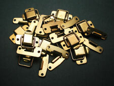 Brass Hardware,12 ea. Brass Snap Catches or Latches #4072,Mounting Hardware Inc