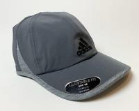 Adidas Mens Superlite Cap Hat Adjustable Fit UPF 50 Climalite Onyx Grey