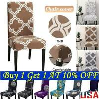 Stretch Spandex Chair Covers Slipcovers Dining Room Wedding Party Decor US