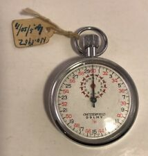 Chesterfield Dolmy 1/10 Stopwatch Vintage