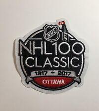 2017 NHL 100 CLASSIC JERSEY PATCH OTTAWA SENATORS MONTREAL CANADIENS - ENGLISH