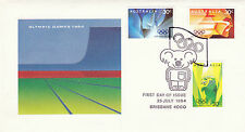 AUSTRALIA 25 JULY 1984 OLYMPIC GAMES OFFICIAL FIRST DAY COVER SH