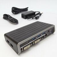 4K Targus Universal USB 3.0 DV2K Docking Station Dual HD DOCK130USZ HP Dell etc.
