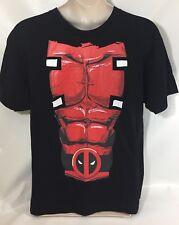 Marvel Deadpool NWT Sixpack T Shirt Black X Large