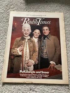 Radio Times August 1982 The Critic