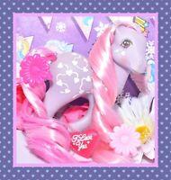 ❤️My Little Pony MLP G1 Vtg 1987 TAF Twice as Fancy Love Melody Pink Hearts❤️