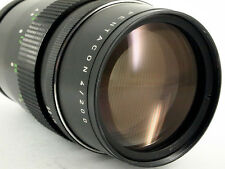 Pentacon objetivamente lens 200mm 1:4 Exakta