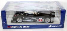 Modellini statici di auto da corsa nero per Audi